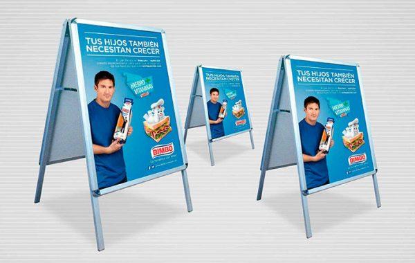 cuadro de aluminio displays publicitarios para ventas en lima 2019 - suma publicidad