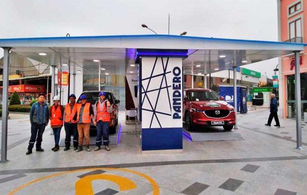 Fabricación de Local Comercial de 90m2 PANDERO – CC Minka - lima 2019 Suma Publicidad