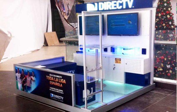 Fabricación de modulo DIRECTV CC Open Plaza Chiclayo - lima 2019 Suma Publicidad