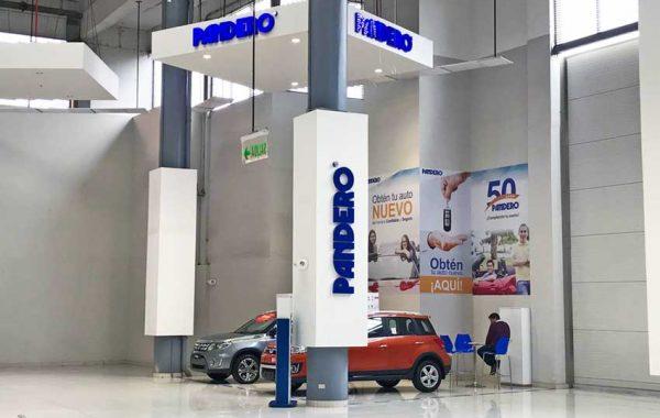 Fabricación e Implementación Local Comercial PANDERO – CC Mega Plaza - lima 2019 Suma Publicidad