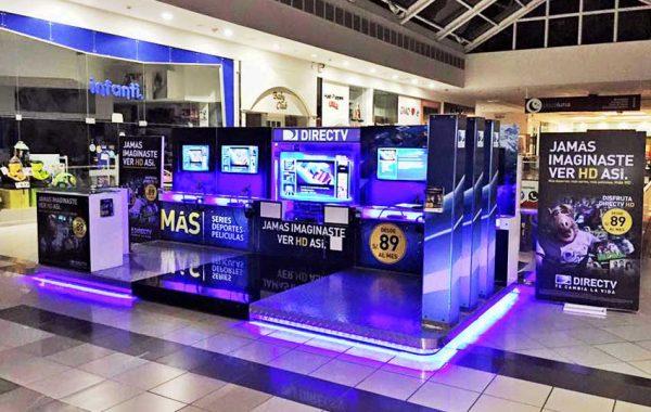 Mantenimiento de Iluminación Modulo DIRECTV CC. Jockey Plaza - lima 2019 Suma Publicidad