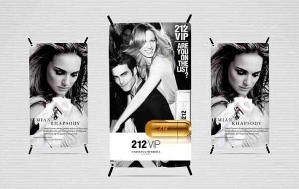 mini banner displays publicitarios para ventas en lima 2019 - suma publicidad