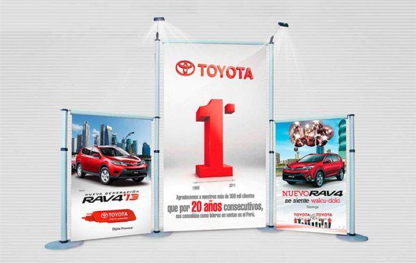 retractil display wall - displays publicitarios para ventas en lima 2019 - suma publicidad